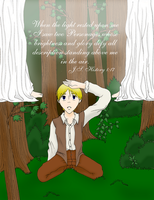 Joseph Smith's First Prayer by VampiricYoshi