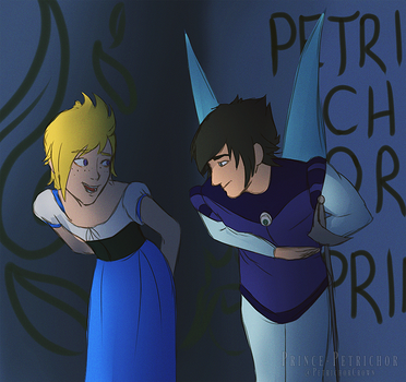 Promptis Thumbelina AU by Prince-Petrichor