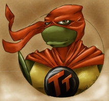 All Hail the Turtle Titan by Klork