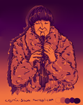 Pallete challenge - The Second Doctor by Miss-Alex-Aphey