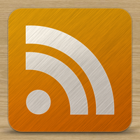Brushed metal Rss icon by gorganzola1