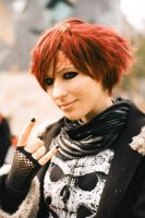 Gaara is so metal by unikorn