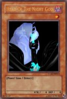 Head Of The Night God Yugioh Card by TheProdigy100