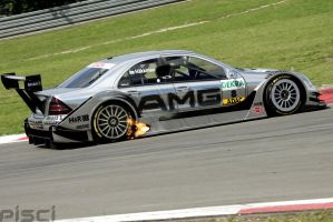 Mercedes C-class AMG DTM flame by Pisci