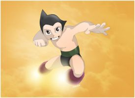 Astro Boy ill by bvcomics