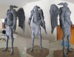 Mabinogi-Paladin Sculpture by Blue-Cobalto