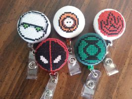 Misc Theme ID badges by Sew-Madd