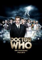 Doctor Who - Twelve Doctors poster by DisneyDoctorWhoSly23