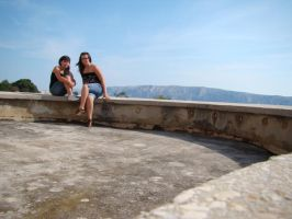 on the balkon of prison by littleancsi