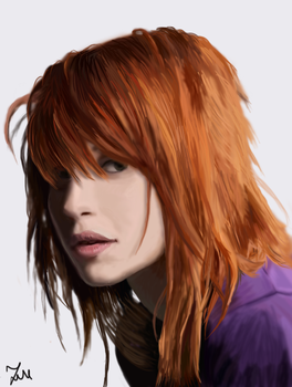 Hayley Williams by Goldahe