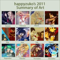 2011 Summary of Art by happyzuko