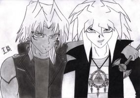 Marik 'nd Bakura by ivka96