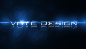 Simple Design with Lens Flare by vatc
