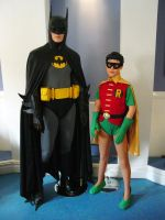 Batman and Robin Costumes for High School Play by darklord1967