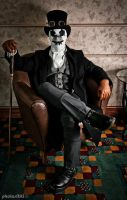 The Gentleman Rorschach by alexkhaine