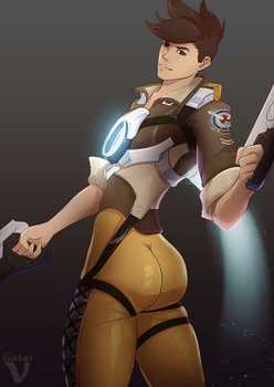 Male Tracer by GasaiV