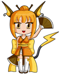 Raichu Girl! by FantasyTwilight