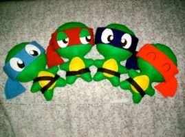 Ninja Turtle Plush 2 by Michkate