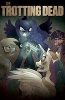 The Trotting Dead by drawponies
