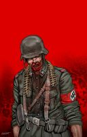 Nazi Zombies 1 Cover by joewight