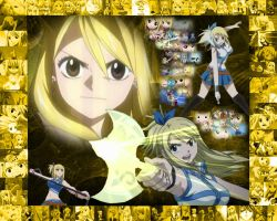 FT wallpaper 2 Lucy Heartfilia by GalacticKitten