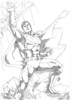 DC New Universe SUPERMAN by JeanSinclairArts