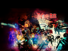 D. Gray-Man Wallpaper by Candystudz