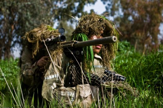 M110 Sniper Rifle by MilitaryPhotos