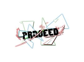 Proceed LOGO Wallpaper by Zaigwast