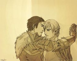 DAII - Commishby AmandaSylvia by Nazgullow