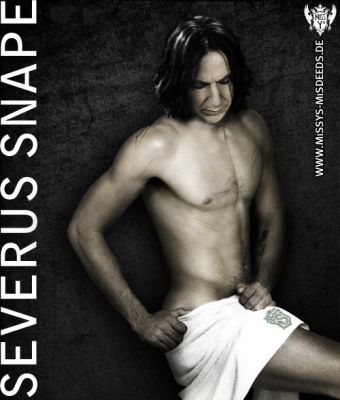 Sexy naked Hotwizard Mr. Snape by Mrs-Severus-Snape