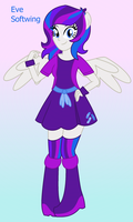 Eve Softwing - Anthro Form - Equestria Girl OC by SJArt117