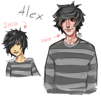 draw this again - Alex by Pinzette
