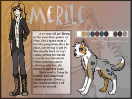 Merile comic ref by Ocrienna