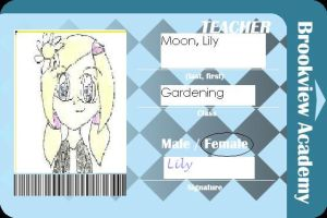 Teacher ID: Lily by preciousserenity657