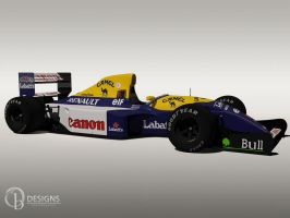 Williams Renault FW14B by Ouroboros888