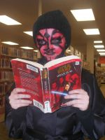 Darth Maul Make-up FTW by AbbyCatWolff