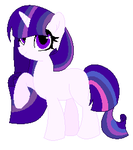 My New Adopted Raritwi Oc by PaintPalletePony