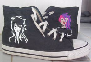 Sandman shoes by sarah-phillips