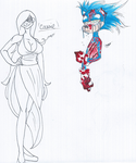 retake-cut: sonic.exe and oc by ragchaser