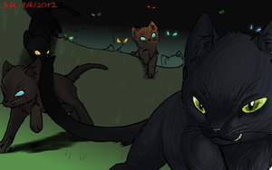 ALL HAIL OUR NEW KITTY OVERLORDS by Taiinty