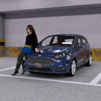 Arturetta's Ford Fiesta (iRay Remastered) by Mikey186