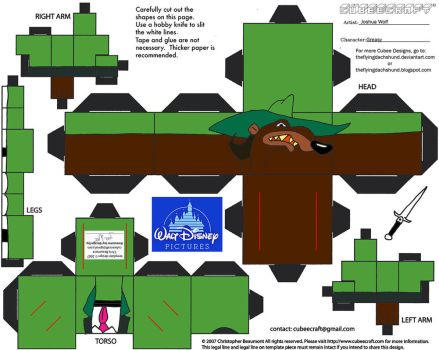 Dis51: Greasy Cubee by TheFlyingDachshund