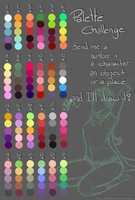 Color Palette Challenge by MissKvitulven