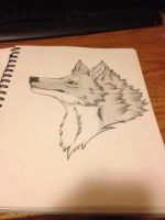 Core headshot (shading practice) by sniperXtentapsy