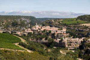 Cathar city of Minerve - France by Stolocus