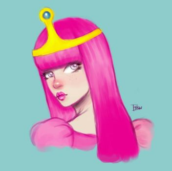 Princess Bubblegum 1 by brandymarie87