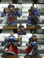 My Space Marine Chapter Master by JaWzY83