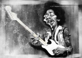 Jimi by lorenzowalkes