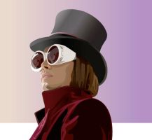 Willy Wonka by purplekitty